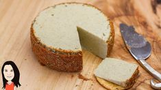 This is a super tasty vegan almond cheese that you can easily make at home. Just a handful of simple ingredients combine into a delicious plant based treat! Non-dairy cheese goodness that you will want to eat all on your own :-) Non Dairy Cheese, Vegan Cheese Recipes, Nut Cheese, Cashew Cheese, Garlic Cheese, Almond Cheese Recipe, Zucchini Cheese, Gourmet Cheese, Easy Cheese
