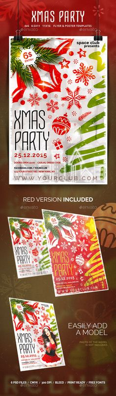 Winter Party Flyer Party Flyer Winter Parties And Flyer Template