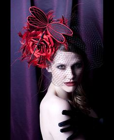 Bugs on a giant scale! gorgeous  GUIBERT Millinery, Rock Me Rococo Collection