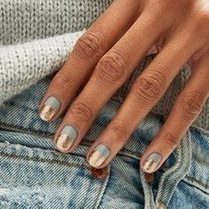 Apr 2020 - Summer Nail Art 685743480746897590 - 44 best nail designs 2019 nail art design ideas short nail art designs simple Source by emelinecmacopine Short Gel Nails, Short Nails Art, Short Nail Manicure, Gold Manicure, Cute Nails, Pretty Nails, Pretty Short Nails, Hair And Nails, My Nails