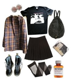 only shallow by babygrrrl on Polyvore featuring polyvore, fashion, style, Timberland, Dr. Martens, Deux Lux, Børn and clothing