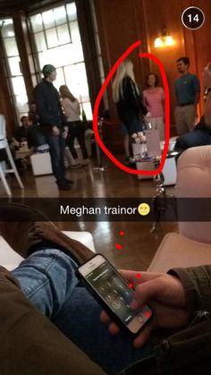 A megatron captured Meghan on SnapChat