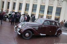 1940 Peugeot 402 sedan.