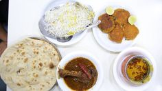 A full meal at #Noormohammadi consisting of the famous #sanjubabachicken, #whitebiryani, #gheedal and mouthwatering #shammikebabs. With everything on the table coming up to just Rs. 210/- it is a steal!  #chicken #NonVeg #Dish #foodie #foodpornography #desi #indian #Dinner #yummy #feedfeed #eat #foodporn #foodgasm #FoodPorn #foodie #foodpics #instafood #foodstagram #feedfeed #eating #spicy #indianfood #eeeeeats #hungry #Curries #foodieriddle #likeforlike #FoodPorn