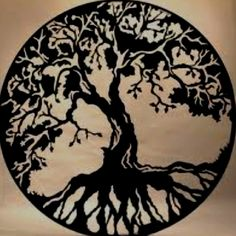 Tree of Life - fantastic tattoo idea!