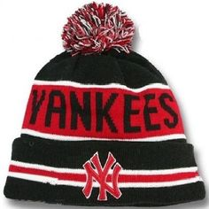 brand new 3c1be 2a848 2017 Winter MLB Fashion Beanie Sports Fans Knit hat Cheap Beanies, Yankees  Hat, New