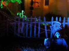 1000 images about haunted house ideas on pinterest for Homemade haunted house effects