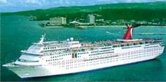 The Carnival Sensation - My first cruise was aboard this ship to Nassau and Freeport, Bahamas