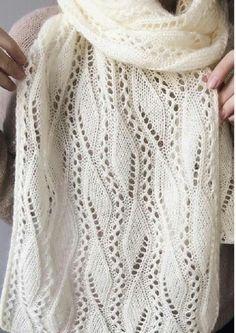 Baby Cardigan Knitting Pattern, Lace Knitting Patterns, Knitting Stiches, Lace Patterns, Easy Knitting, Knitting Designs, Knitted Shawls, Crochet Shawl, Knit Crochet