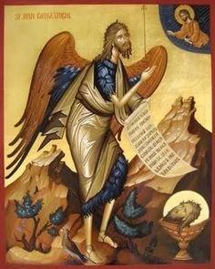 Jurnal A: Ioan Botezătorul Byzantine Art, Princess Zelda, Painting, Fictional Characters, Inspiration, Saints, Blog, Biblical Inspiration, Santos