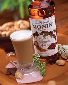 Toasted Almond Latte takes gourmet coffee to the next level