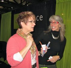 Photo of Glance Optics & Eyewear - Salem, OR, United States. Lisa helping a customer at Showbiz