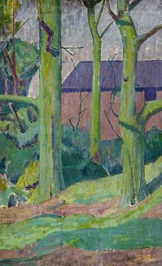 Landscape with Trees  Malcolm Drummond - circa 1925