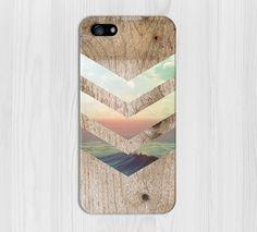 California Skies Ocean Wood Phone Case iPhone 7 par CaseEscape