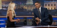 @Trevornoah proved worthy of #DailyShow chair with @TomiLahren interview #MovieTVTechGeeks via @MovieTVTechGeeks