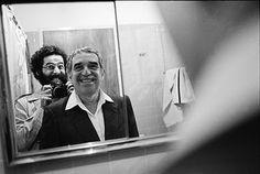 Vasco Szinetar & Gabriel García Marquez 'facing the mirror', 1982
