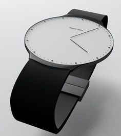 Designed by Niels Astrup, the Touch Skin OLED watch concept is a minimal watch with a flat touchscreen OLED display. The watch connects to your computer or smartphone via Bluetooth connectivity, allowing you to download new designs or skins for the display. What makes the Touch Skin OLED watch more interesting is that it is able to adjust its time automatically via radio. Where can I get one?