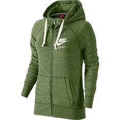 Women's Athletic Hoodies - Nike Womens Gym Vintage Full Zip Hoodie -- You can get more details by clicking on the image. (This is an Amazon affiliate link)