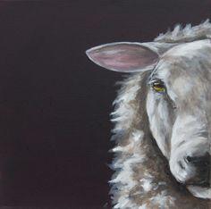 Sheep Painting by Suzy Sharpe Artist Illustrator