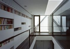 CASE218 空の家 Divider, Stairs, Interior, Room, Furniture, Home Decor, Bedroom, Stairway, Decoration Home