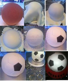 How-To-Create a Soccer Ball Cake By: Stella Bella Cupcakes & Cakes