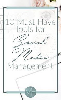 10 must have tools for social media managment | Hiring a Virtual Assistant | Social Media Manager | Virtual Assistant Tips | Finding a VA | Finding a Virtual Assistant
