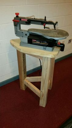 Scroll Saw Stand More