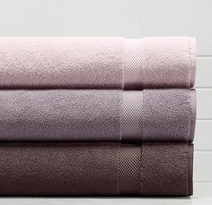Turkish towels - lilac collection Restoration Hardware