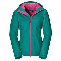 De Chilly Morning #winterjas voor dames is vrolijk gekleurd en biedt veel draagcomfort. Deze lichtgewicht #jas van @jackwolfskin is wind- en waterdicht en voorzien van praktische zakken.