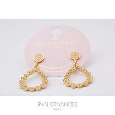 Filigree Drop Earrings www.linahernandez.com