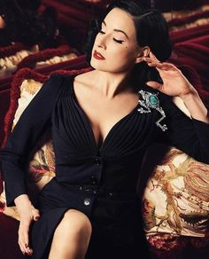 The Lovely, The Sensual, Dita Von Teese!