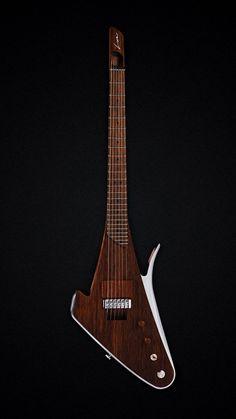 Le modèle X de Lava Drop Guitars. Retrouvez des cours de guitare d'un nouveau genre sur MyMusicTeacher.fr