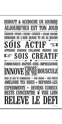 Traiborg - Member Home Page The Words, Cool Words, Positive Mind, Positive Attitude, Quotes Francais, Motivation, Miracle Morning, Quote Citation, French Quotes
