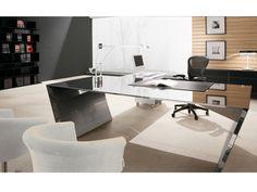 Cattelan Italia Schreibtisch Vega Edelstahl kaufen im borono Online Shop