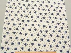 きめの細かい、上質な生地(日本製)です。 てぬぐい本来の用途はもちろん、吸水、通気性に優れていますので ベビーの肌着、ゆかた、じんべい、その他雑貨小物の製作用にもオススメ! 小巾木綿・てぬぐい生地「千鳥」柄 35cm巾 綿100% - そーいんぐ・すていしょん コミニカ