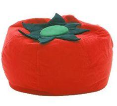 Giant Tomato Bean Bag Chair!