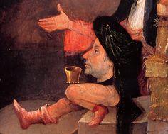 Temptation of Saint Anthony detail Hieronymus Bosch Hieronymus Bosch, Temptation Of St Anthony, Pieter Bruegel The Elder, Late Middle Ages, Examples Of Art, Weird Dreams, Dutch Painters, Gustav Klimt, Art World