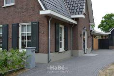 Vrijstaande woning met bijgebouw in jaren 30 stijl te Lunteren - HaBé | Bouwen…