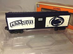LIONEL PENN STATE O SCALE BOXCAR NITTANY LIONS DIE CAST TRAIN 6-39284 MINT #Lionel
