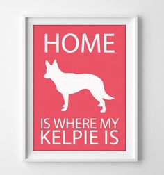 Kelpie Wall Art in purple, blue or green Agility Training For Dogs, Dog Agility, Dog Stencil, Stencils, Painted Wooden Signs, Crazy Dog Lady, Puppies And Kitties, Dog Silhouette, Dog Activities