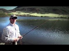 Roll Cast - Basic Fly Casting - YouTube