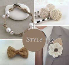 Natural Wedding Ideas and Inspiration. so calming to the eyes~