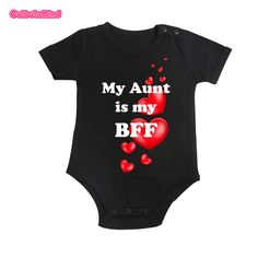 Culbutomind Newborn Toddler Baby Boys Girls Clothing best Aunt Body suit Cotton Body suit Summer Baby Clothes Jumpsuit #Affiliate