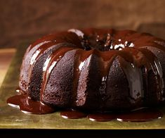 Chocolate Stout Cake - made with Guinness, molasses and chocolate