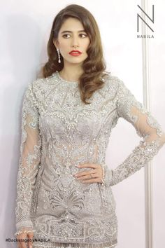 Every year, we look to street style to inform and inspire us. Pakistani Couture, Pakistani Bridal Dresses, Nikkah Dress, Bridal Lehenga, Shadi Dresses, Desi Clothes, Asian Clothes, Indian Outfits, Indian Dresses
