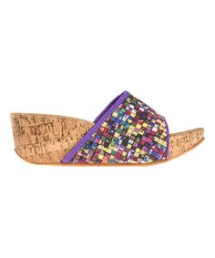 Look at this #zulilyfind! Mosaic Cork Tracy Sandal by Zee Alexis by CC Resorts #zulilyfinds