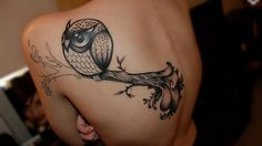 2K2BT Tattoo Apparel presents: OWL TATTOOS: SUITABLE FOR GIRLS