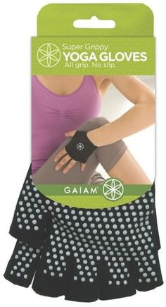 Super Grippy Yoga Gloves for a no-slip-grip at the barre!