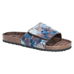 92990db9419bc Slip on our Muk Luks Men s Jackson Sandals and go! With shades of Black Blue