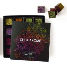 Packaging:  Chocarome chocolate